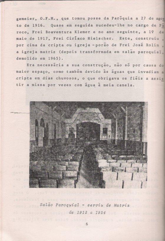 cineminha da igreja