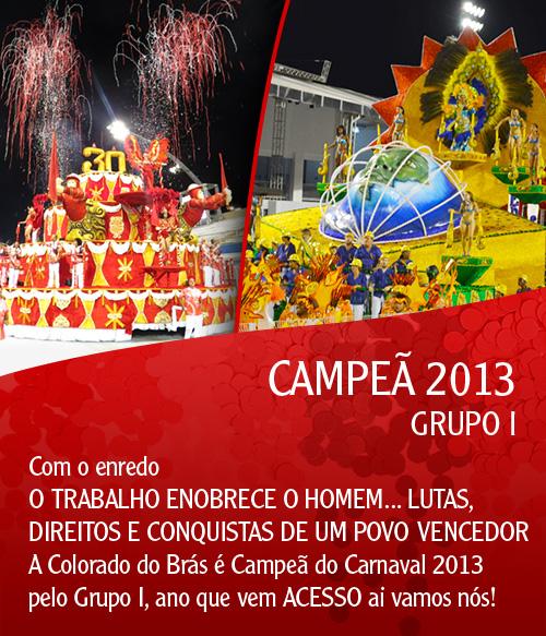 colorado campeã 2013