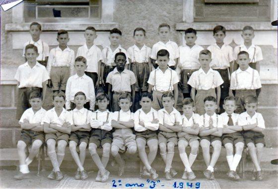 003. Sérgio no Grupo Escolar Orestes Guimarães - 2o Ano