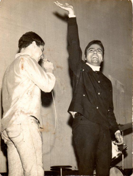037. Sérgio e Agnaldo Rayol - Show no Cine Piratininga - Brás