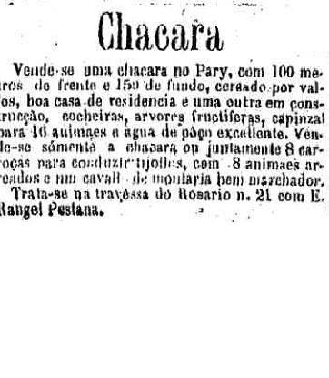 23 2 1883 chacara
