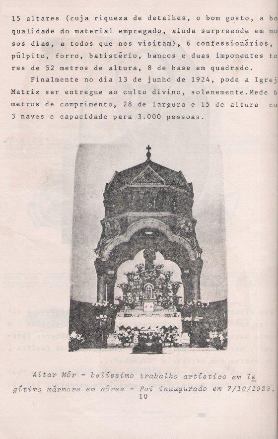 altar mór