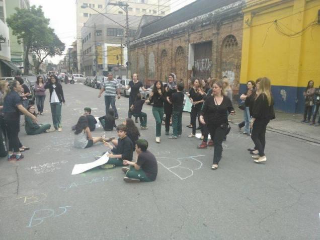 protesto contra o fechamento