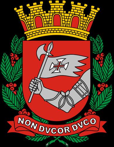 brasão da cidade de s. paulo