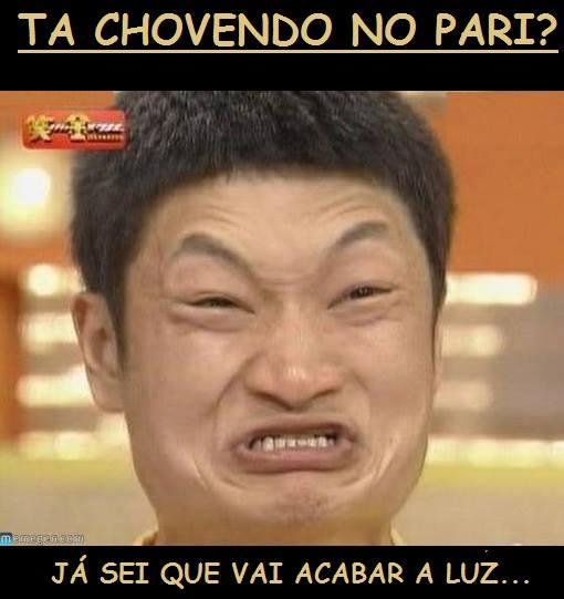 TA CHOVENDO NO PARI