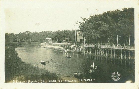 Rio Tietê - Club de Regatas São Paulo - 1920