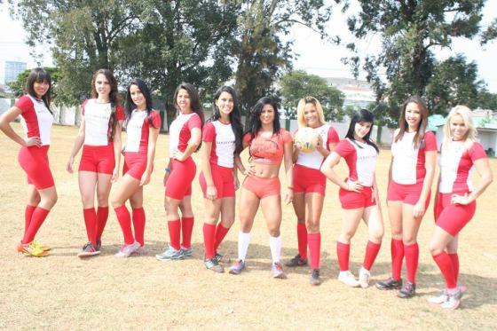 futebol de modelos