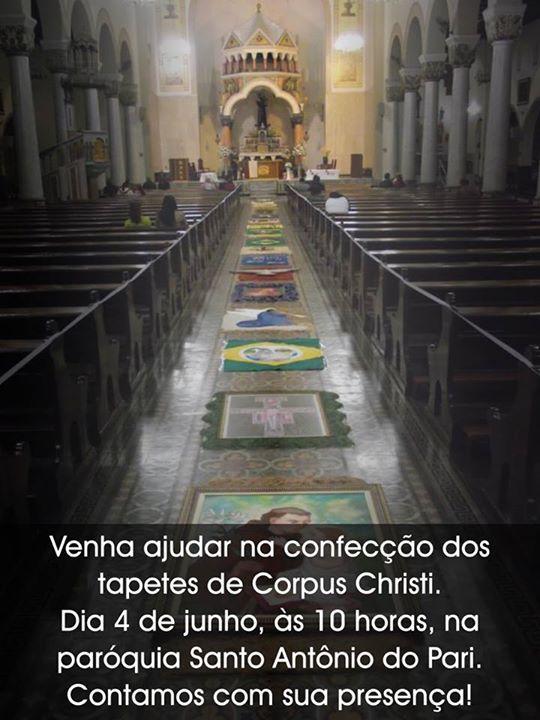 tapete corpus christi