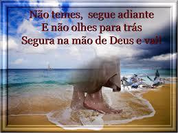 segura na mao de Deus