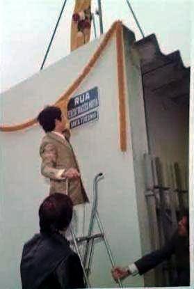 sant a teresinha rua estiva para thereza francisca martin 1976