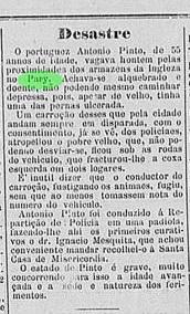 desastre com portugues