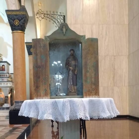 reliquia de s. francisco