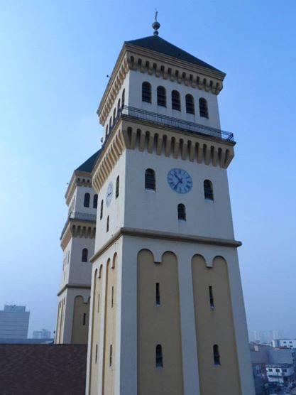 torres com relogio