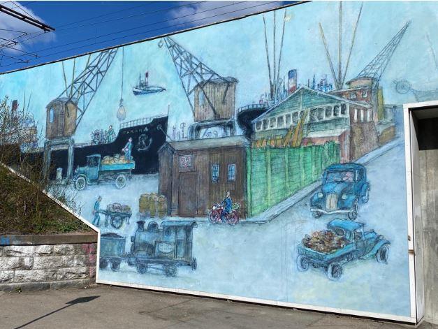 mural de copenhague